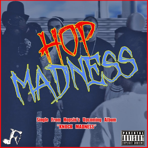 Hopsin - Hop Madness - Single  Cover
