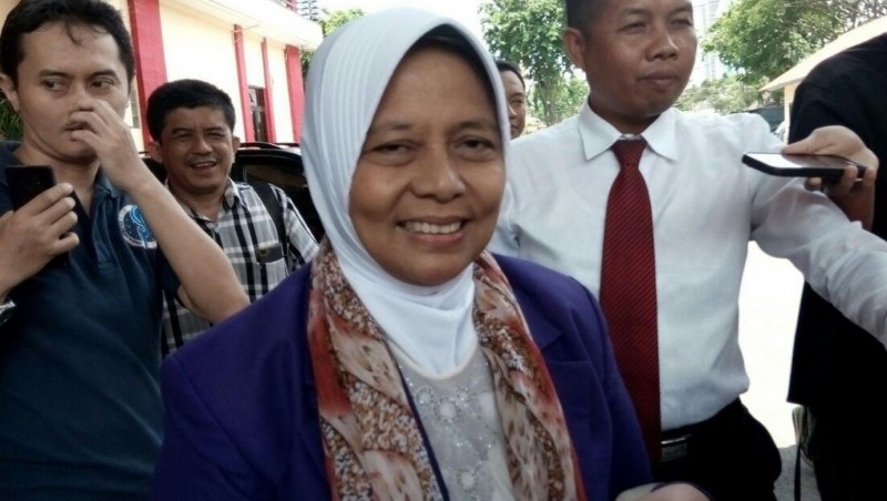 Marwah Daud Ibrahim diperiksa di Polda Jatim
