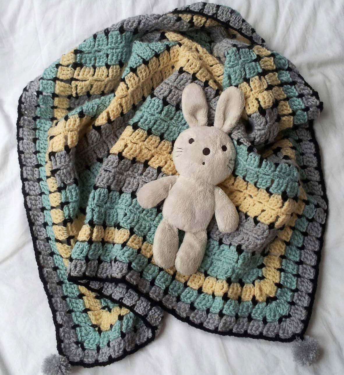 thredHED: Retro Baby....Buggy Blanket