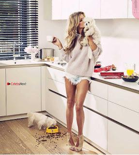 Joana Krupa goes classic nude for some magazine Named VIVA wow July 2017