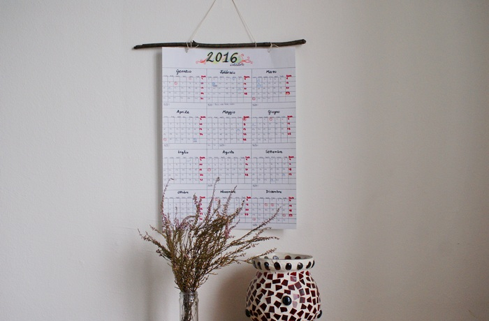 diy calendar branch calendario faidate