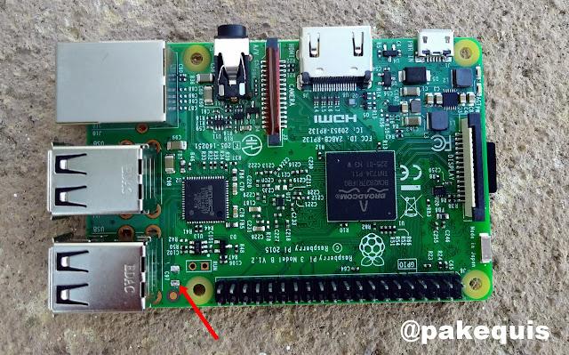 Raspberry Pi 3 com defeito