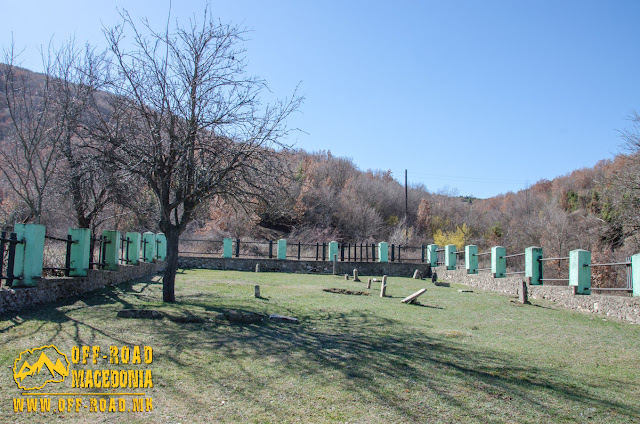Serbian First World War cemetery near Skochivir village, Macedonia