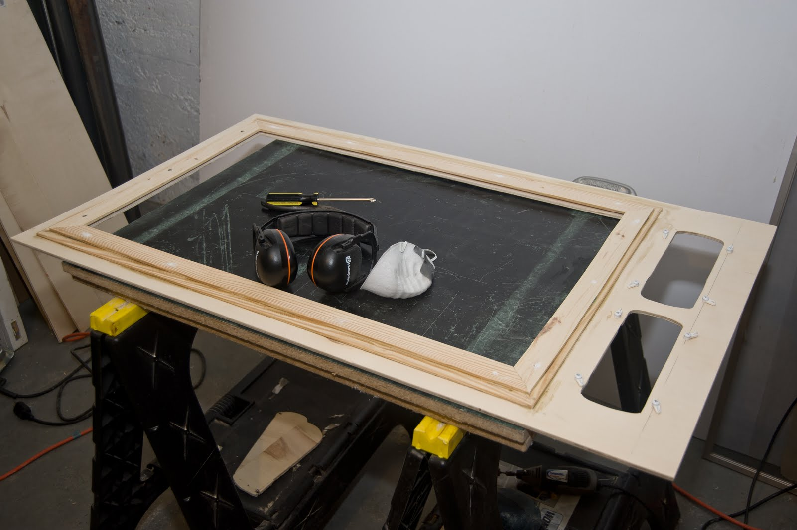 Very BuggerIT: AC Window Frame Progress - Vent Port Mounts NV55