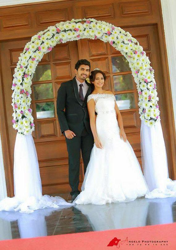 Yureni Noshika got married