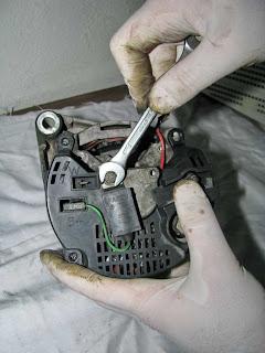 alternador Valeo 436193 condensador de filtro antiparasitos