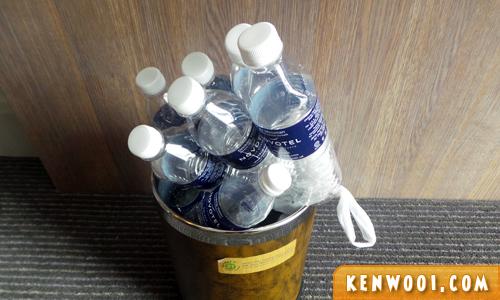 novotel hotel bottle