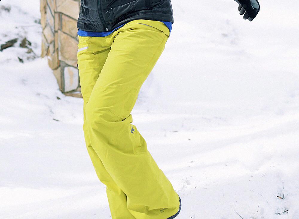 Snow pants street style