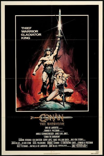 Cartel Conan el Bárbaro