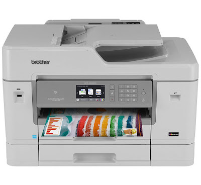 The Brother Business Smart Pro Wireless Inkjet All Brother MFC-J6935DW Driver Downloads