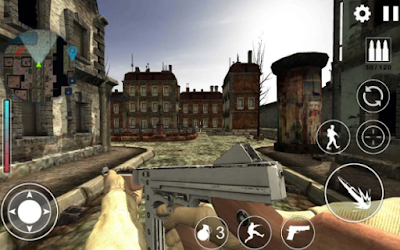 World War 2 : WW2 Secret Agent FPS Mod Apk Offline Terbaru