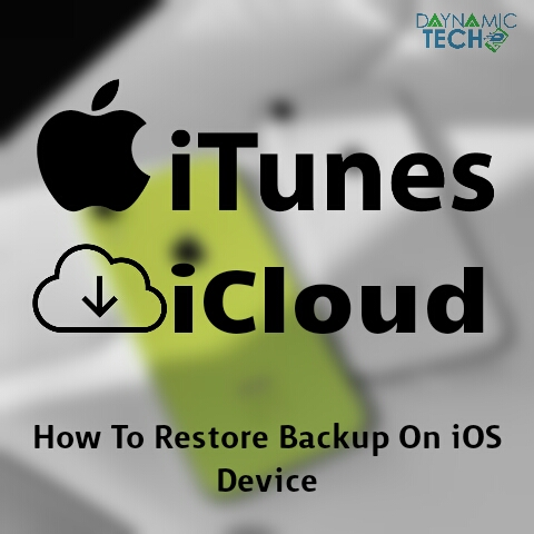 How To Restore Backup On iOS Device