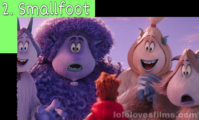 Smallfoot 2018 movie