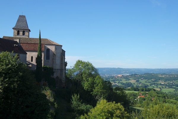france lot quercy loubressac rando