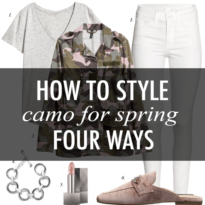 7d3dfa30d3 Daily Style Finds  Four Ways to Style Camo + 15 Wardrobe Staples on Sale