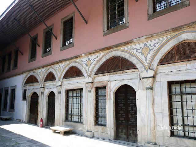 Palacio de Topkapi harén