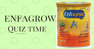 all answer of enfagrow quiz time updated here