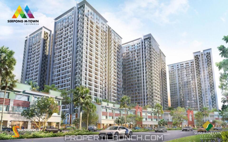Apartemen Serpong M-Town Residence