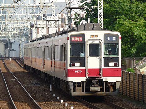 【ダイヤ改正でレア運用も消滅!】区間急行 浅草行き1 6050系(2017.4廃止)