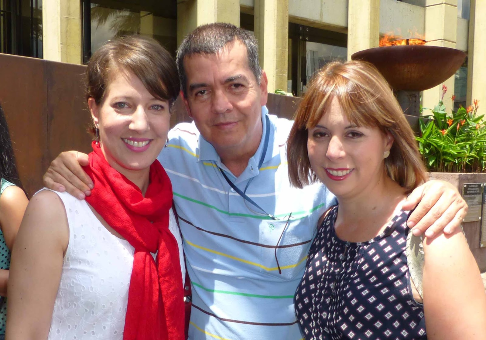 Adriana Monsalve Esposo Piedad Monsalve y Natalia