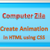 HTML Example 2: CSS Animation and Transition in HTML