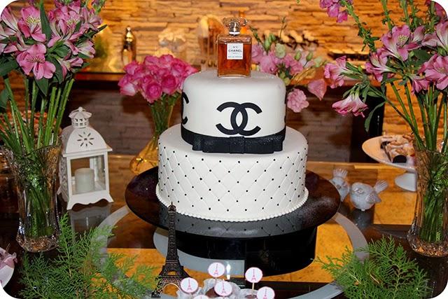 Bolo de Aniversário da Chanel