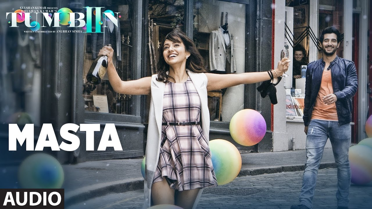 The Masta lyrics from 'Tum Bin 2', The song has been sung by Vishal Dadlani, Neeti Mohan, . featuring Neha Sharma, Aditya Seal, Aashim Gulati, . The music has been composed by Ankit Tiwari, , . The lyrics of Masta has been penned by Manoj Muntashir