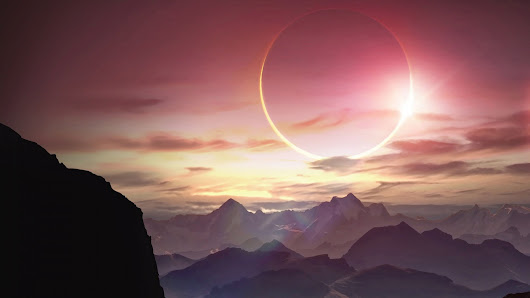 Solar Eclipse ~ HD Wallpaper