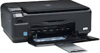 Der HP Photosmart C4410 Drucker gehört zu der HP Photosmart C4400 Serie von vierzehn anderen Typen seiner Klasse. Es hat max. 4800 x 1200 dpi Auflösung und verbraucht 20 Watt beim Drucken. Es hat eine physische Dimension 16,7 x 43,4 x 40,3 cm, Gewicht 5,0 kg.