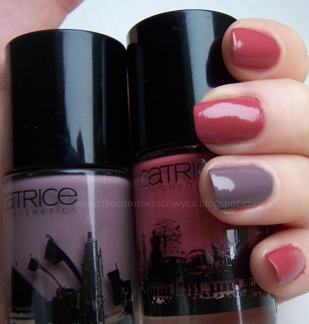 Catrice, Big city life, Ultimate Nail Lacquer, Berlin i Sydney
