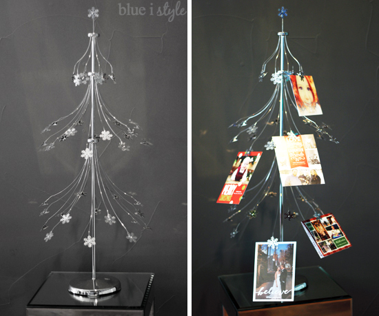 five minute friday dress up your christmas card display while you