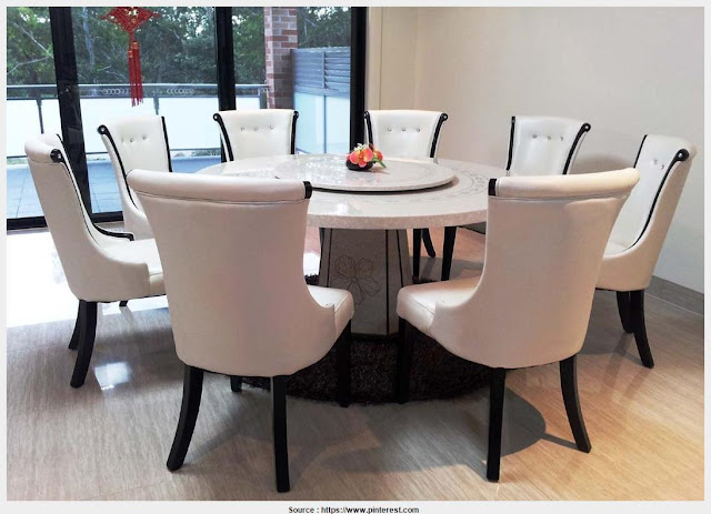 Marble Round Dining Table Gallery