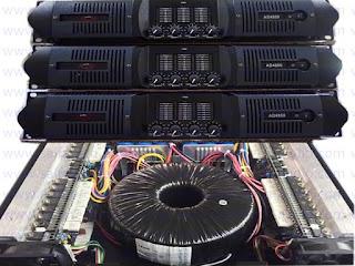 Power Amplifier A&D VR 4800