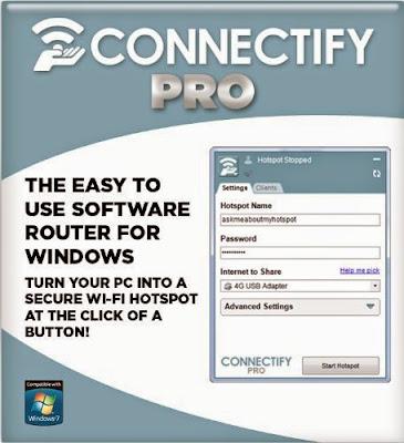 Connectify Hotspot PRO 7.1 crack