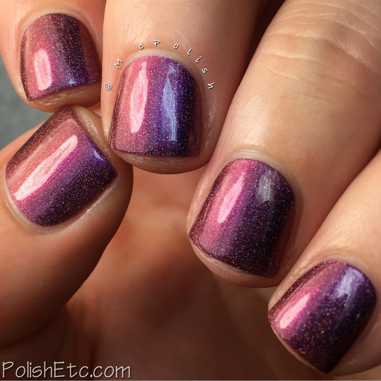 Top Shelf Lacquer - Cocktail Fun Holo'd Collection - McPolish - Help Me Straighten Mai Tai (Holo'd)