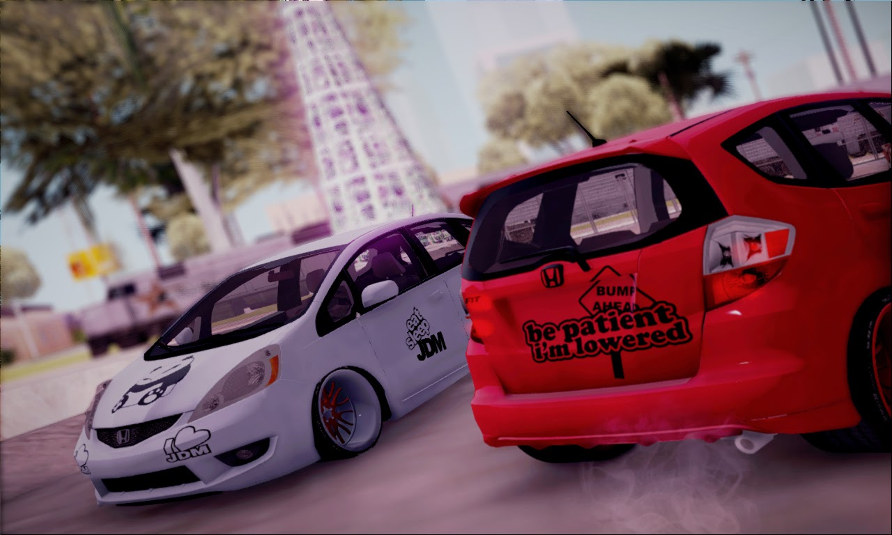 Honda Jazz/Fit JDM GTA SA Mod