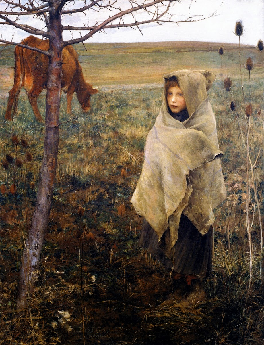 an analysis of jules bastien lepages painting joan of arc Bastien-lepage, jules (1848-1884), french painter, was born in the  in  1880 he exhibited a small portrait of m andrieux and joan of arc listening to the .