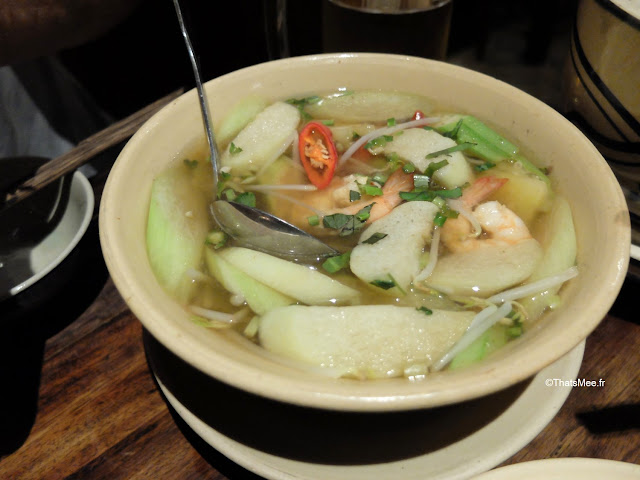 soupe où manger bon resto cuc qach quan ho chi minh ville city saigon vietnam