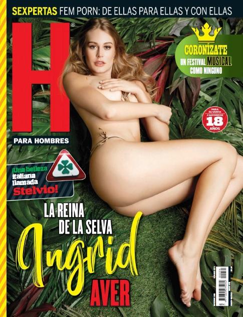 Ingrid Aver Revista H Noviembre 2018 [FOTOS + PDF]-1