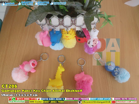 Gantungan Kunci Key Chain Animal Eksklusif