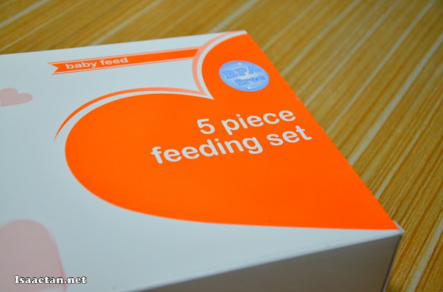 BPA Free 5 Piece Feeding Set