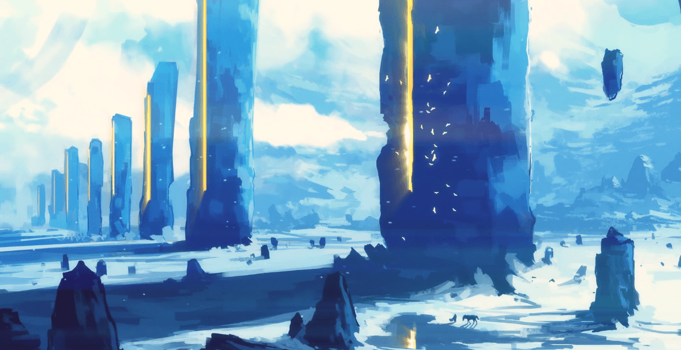 Artwork - Sky Pillars [Wallpaper Engine Free]