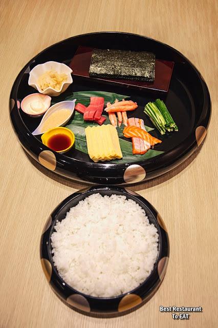 UMAI SUSHIKAN - MAKE YOUR OWN SUSHI - 1 Person Set