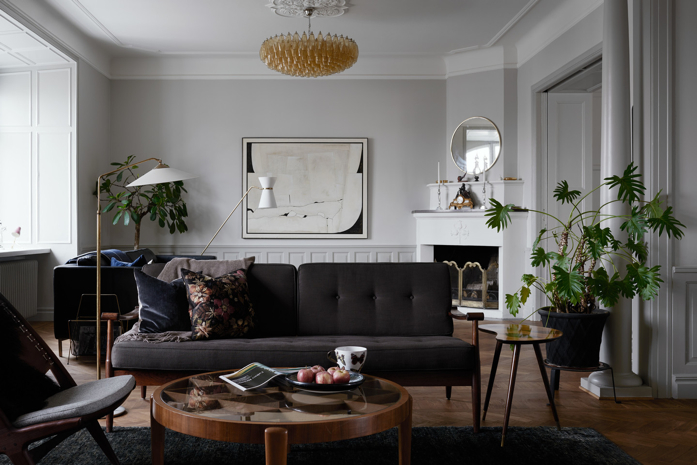 Living room with plants-photography Kristofer Johnsson