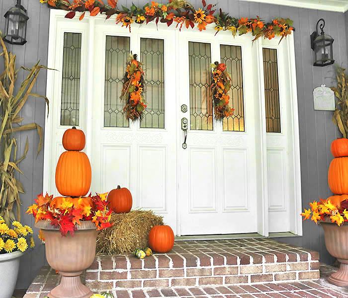 Fall Front Door Decorations