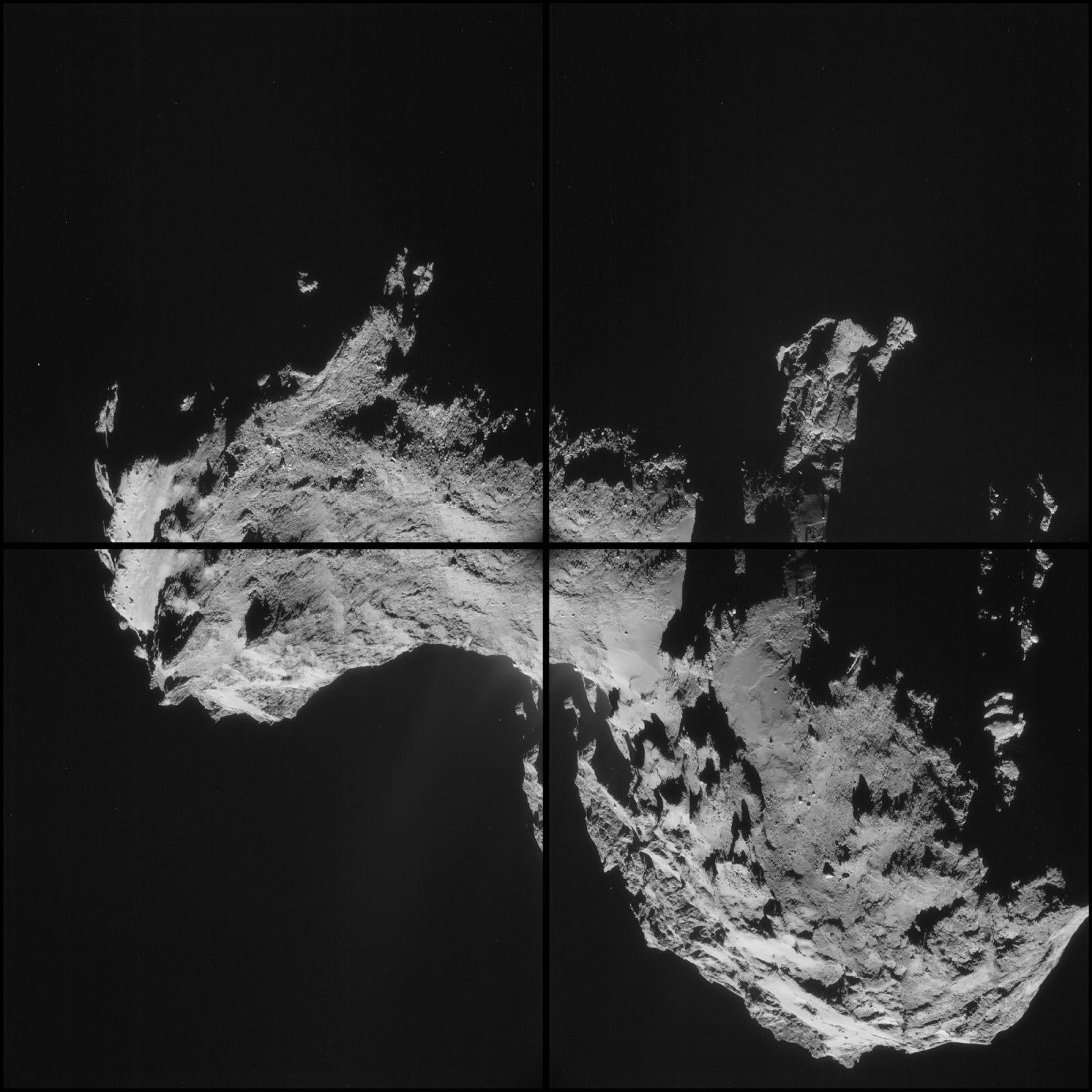Suburban spaceman: ESA Rosetta Probe Snaps Spectacular ...
