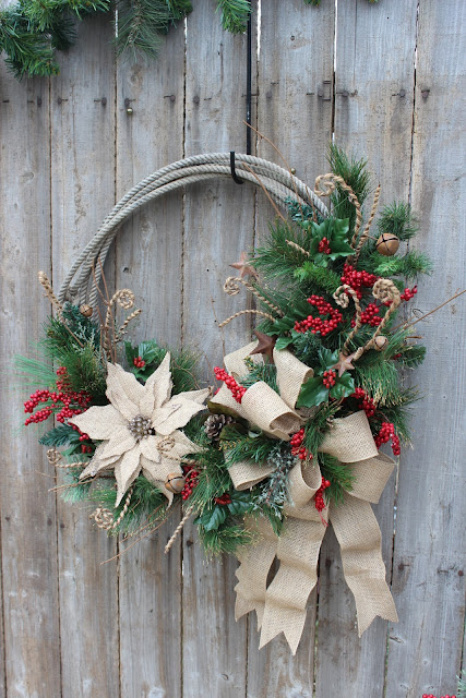 Rope Christmas Wreath