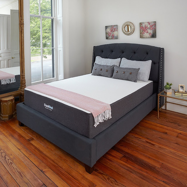 Amazon: Classic Brands Ventilated Cool Gel Memory Foam 10.5-Inch King Size Mattress for only $223 (reg $1299) + free shipping!