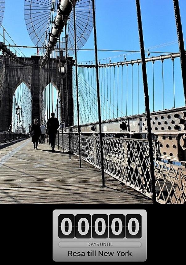 Nu reser jag till New York!