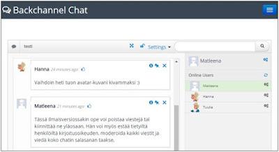 Chat Moderaattori